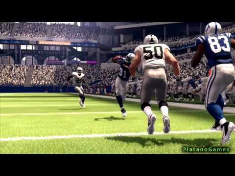 NFL 2013 Week 1 - Oakland Raiders vs Indianapolis Colts - 3rd Qrt - Madden NFL 25 - HD