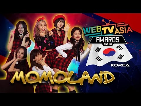 WebTVAsia Awards 2016 Performance - Momoland