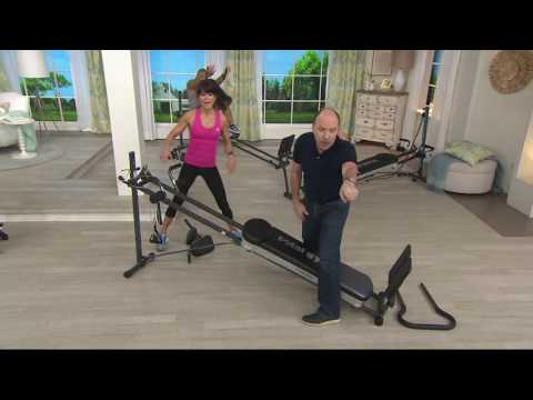 Total Gym Fusion With STEP Attachment & Pilates Kit On QVC