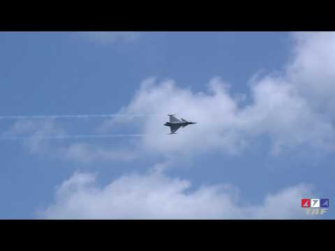 RTAF JAS 39 Gripen in Singapore Air Show 2018