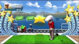 Prize Driver golf minigame Kinect Sports Season Two Xbox 360 720P gameplay