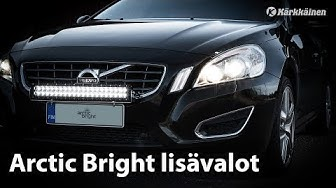 Arctic Bright lisävalot (Karkkainen.com)