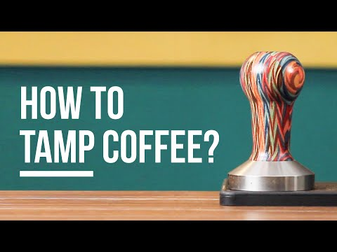 Learn Coffee with Gwilym: #2 Tamping Mistakes