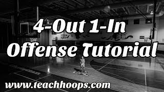 4 Out, 1 In Offense -- Basketball Coaching Tutorial