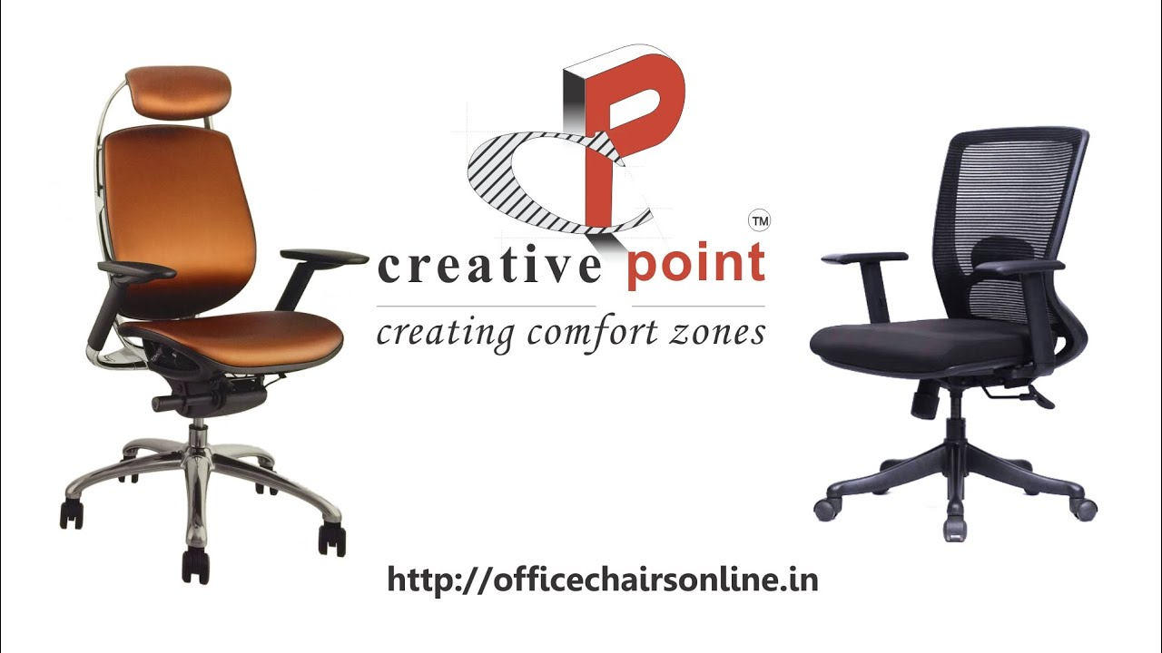 office chairs leather buy online creative point mumbai youtube