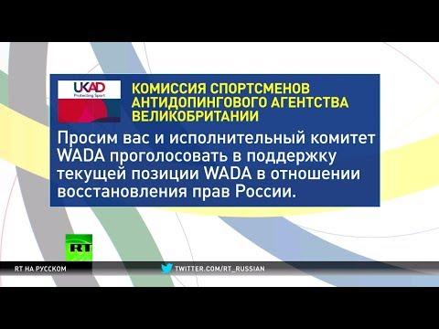 «Нет смене курса WADA»: Британия и США выступили против возможного восстановления РУСАДА