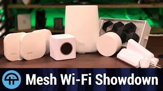 Mesh Wi-Fi Showdown: Plume, Google Wifi, Eero, AmpliFi