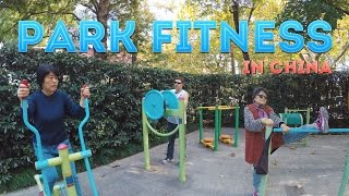 DONNIE DOES | Chinese Park Work Out