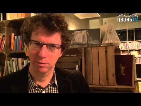 Arnon Grunberg in de Flexbieb