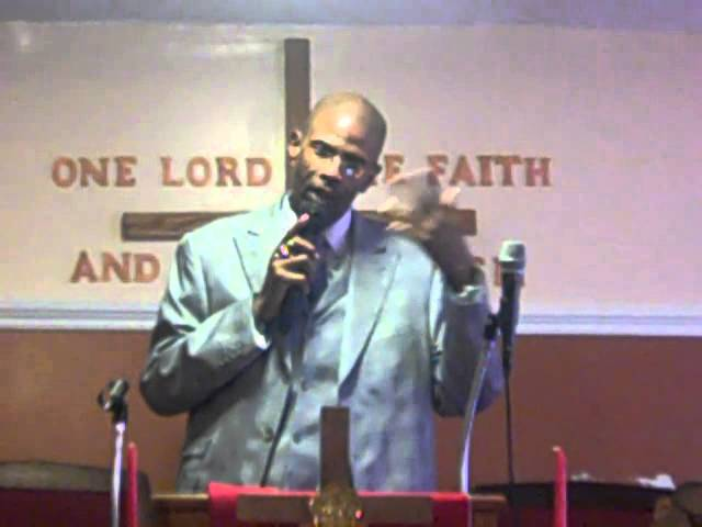"Elder E. Cameron Foster ""The Theology of The Wall"""