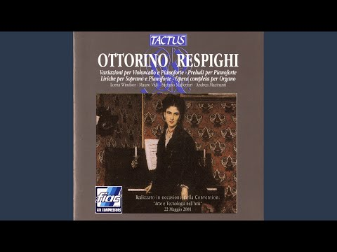 3 Preludi Sopra Melodie Gregoriane, P. 131: I. Molto Lento