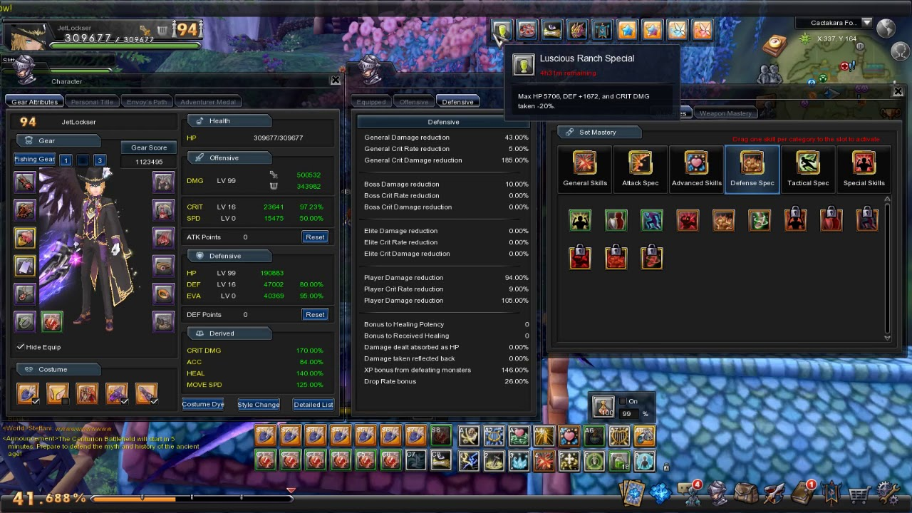 Aura Kingdom - Holy Sword PVP Build [Not a Guide] LV89 ...