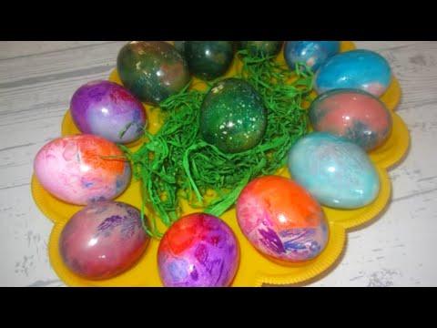 Farbanje uskršnjih jaja na 3 načina