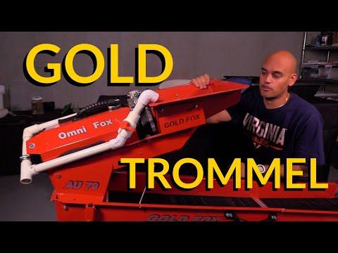 NEW Gold Fox Lil Monster Trommel!