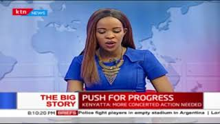 First lady Margaret Kenyatta pushes for gender equality: The Big story 7th March 2018