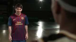 Lionel Messi Basketbol oynarsa