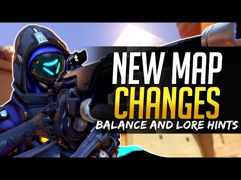 Overwatch MAP CHANGES - Lore Hints and Balance