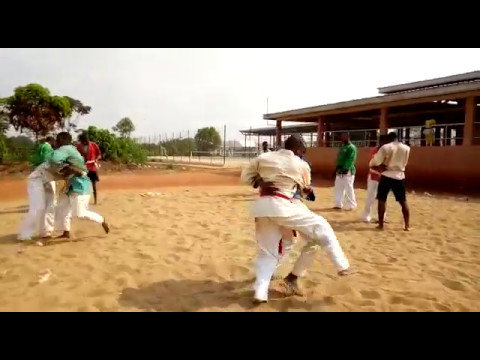 Beach Kurash National Course Yaounde Cameroon 01/03/2017