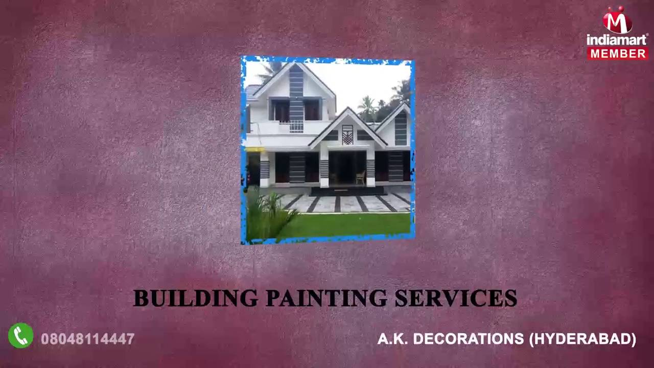 false ceiling and painting services by a k decorations hyderabad