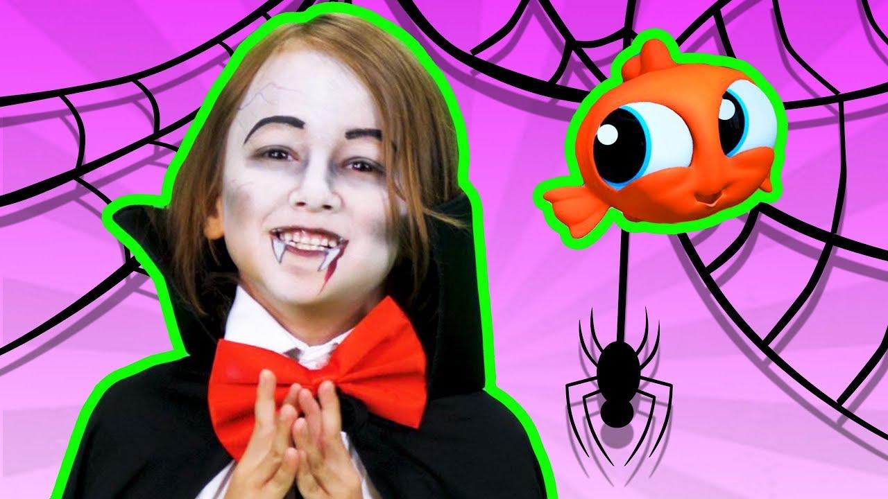 Baile del Tiburoncito | Halloween | Maquillaje | Disfraces de Halloween