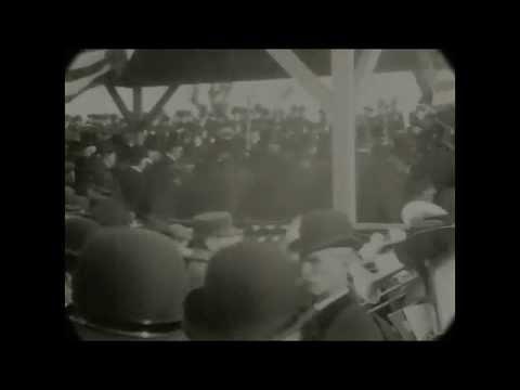 December 19, 1903 - Opening of Williamsburg Bridge in New York City (Speed Corrected w/ Sound)
