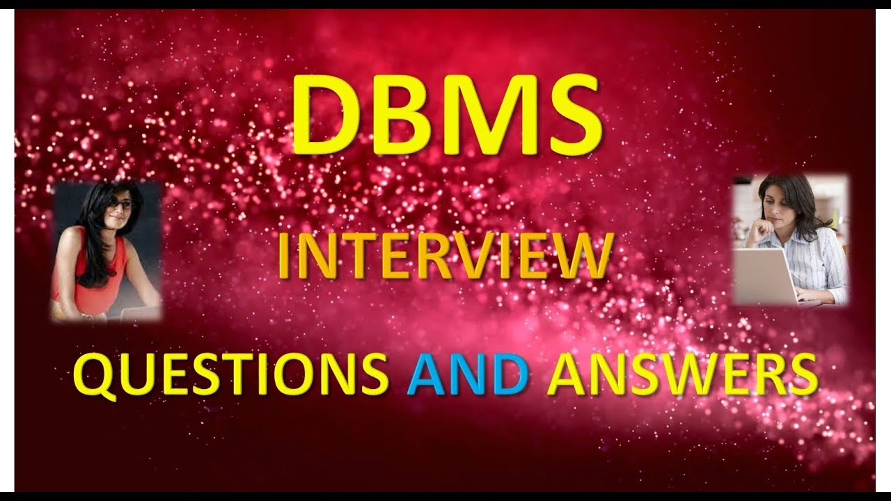 database dbms interview questions and answers part 1 database dbms interview questions and answers part 1