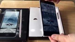 VeryKool Maverick Dual SIM s5518 Android Smartphone Unboxing 7-18-15