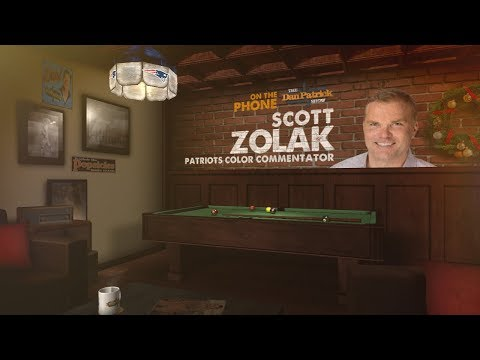 Patriots' Color Analyst Scott Zolak Joins The Dan Patrick Show | Full Interview | 12/12/17