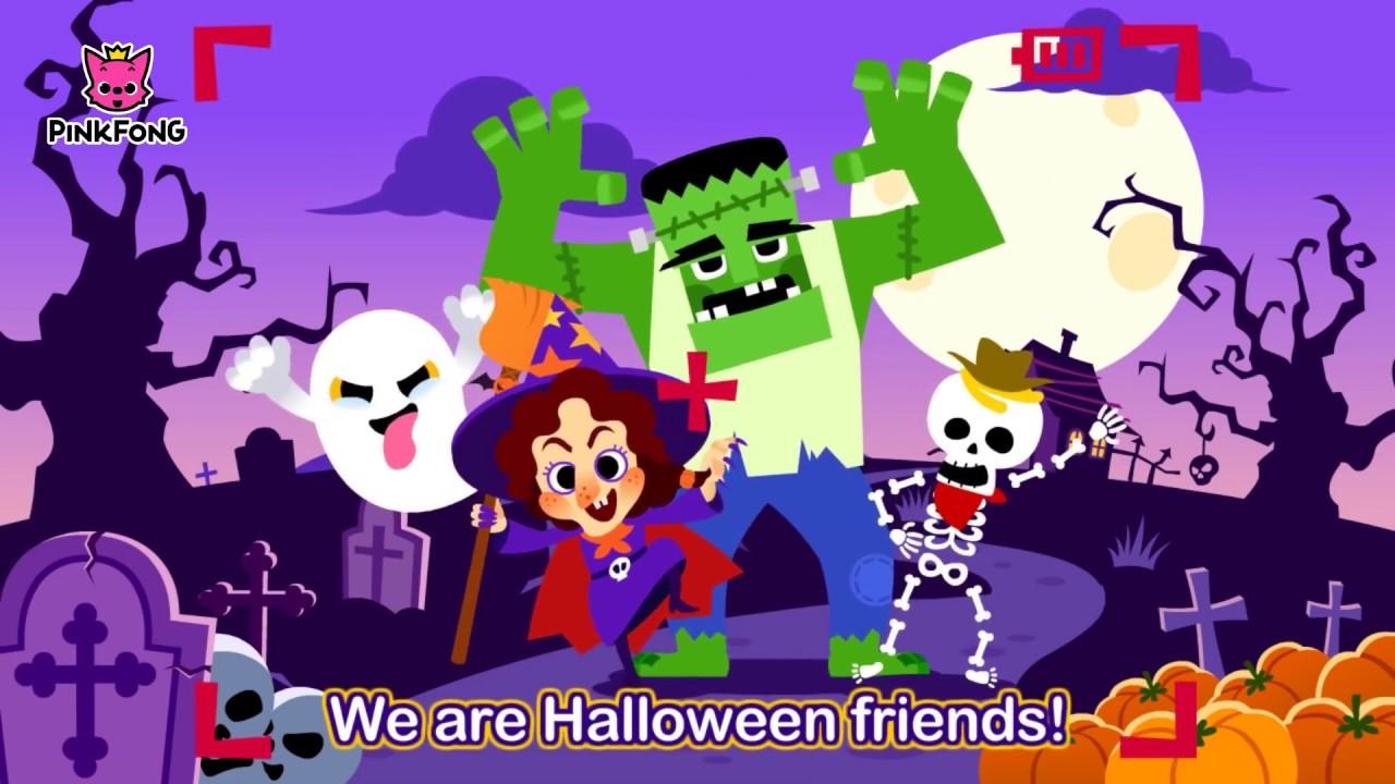 Bài Hát Halloween - Nhạc Thiếu Nhi Tiếng Anh - Halloween Songs - Đoán Xem  Là Ai Nào? - YouTube