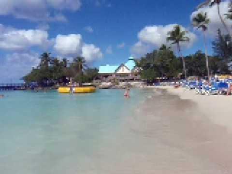 Dreams Laromana Beach Calm Caribbean Sea