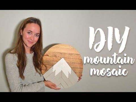 DIY Mountain Mosaic (GIVEAWAY!!)