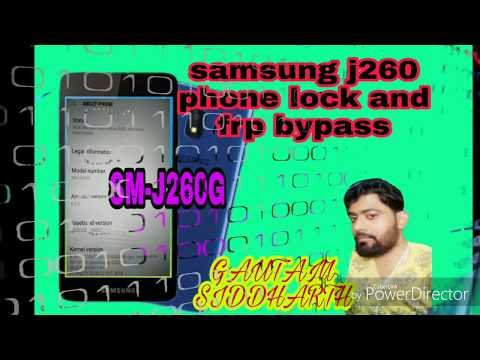 samsung j260 phone lock and frp bypass - YouTube