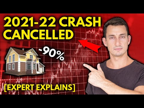 CANCELLED: 2021 STOCK & HOUSING MARKET CRASH, NO HYPERINFLAT