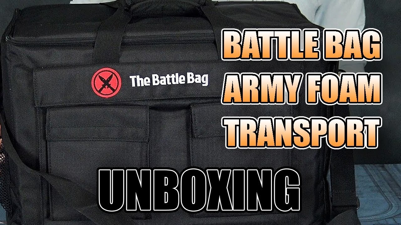 What Can It Hold Battlebag Vs Sabol Battlefoam Spikey Bits This thing doesn't need an instruction manual, just pull out the. battlebag vs sabol battlefoam