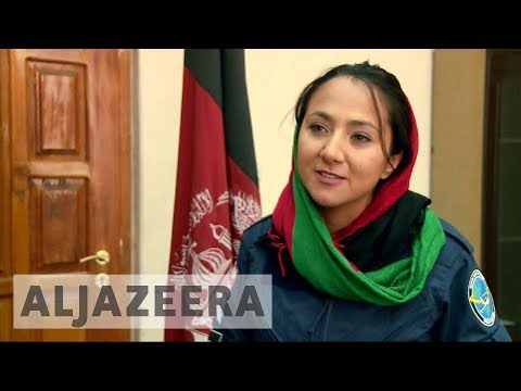 Afghan-American female pilot to fly solo around the world