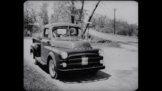1953 Dodge Truck Sales Training Film - Dodge Truck Value Outsells Chevy