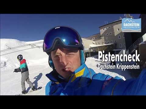 Longest Skiing Run In Austria - @Dachstein Krippenstein
