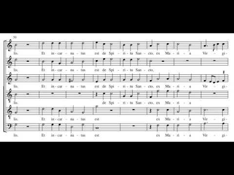 Palestrina: Missa Assumpta est Maria - Credo