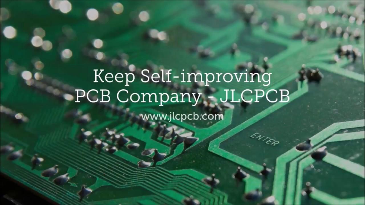 Keep self-improving PCB Company - JLCPCB