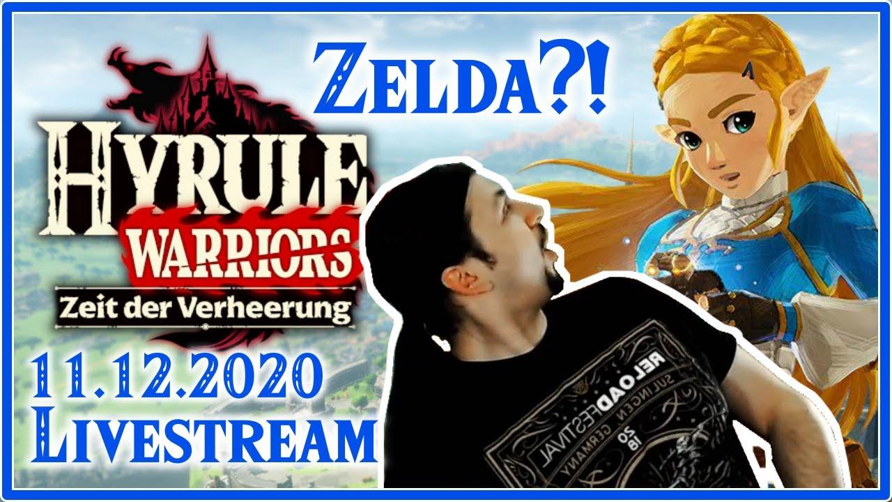Hyrule Warriors Age Of Calamity Der Verheerung Auf Der Spur Livestream 11 12 2020 Youtube