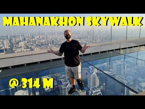 By Far! BEST views Bangkok 78th floor - King Power Mahanakhon Skywalk 314 meters high