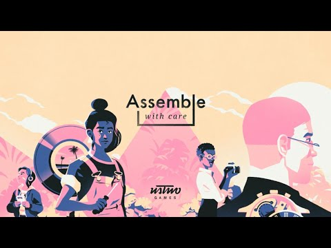 Assemble with Care (by ustwo Games Ltd) Apple Arcade (IOS) Gameplay Video (HD)