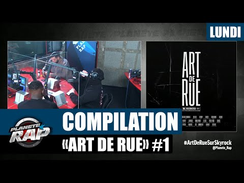 Youtube: Planète Rap – Compilation « Art de Rue » avec Sadek, Kalash Criminel, Max Paro et Cinco #Lundi