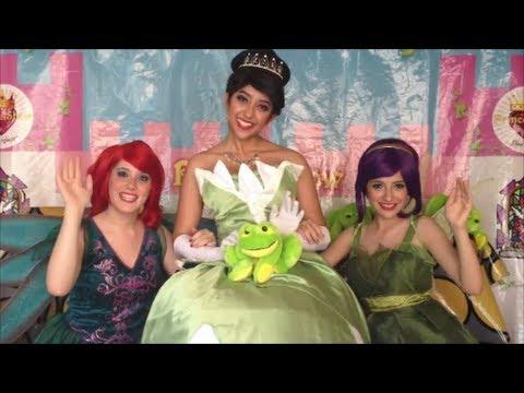 La princesa y el sapo tiana ya llegar en vivo - Sapos y princesas valencia ...