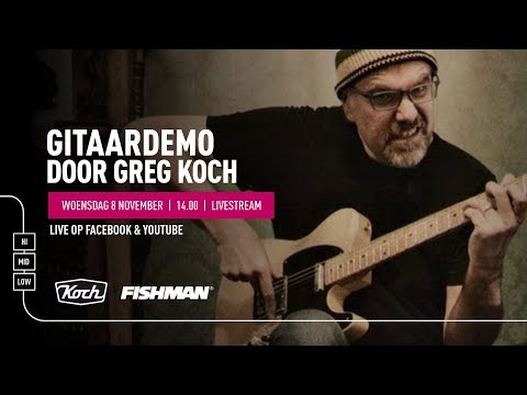 Greg Koch clinic - Bax Music