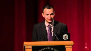 36th Student Academy Awards: Joaquin Baldwin, Animation Silver Medal