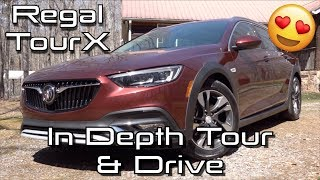 2019 Buick Regal TourX Essence: Start Up, Test Drive & In Depth Tour