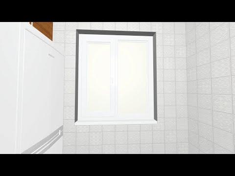 Керамичекая плитка Суррей (Керама Марацци-2015) в интерьере кухни | 3D-видео, дизайн-раскладка