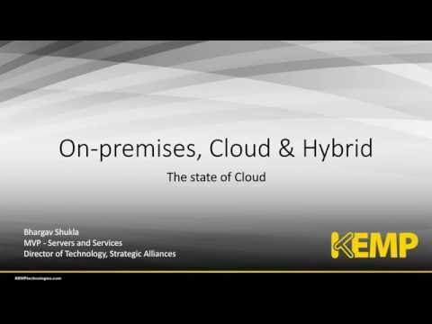 Private, Hybrid and Public: State of the cloud