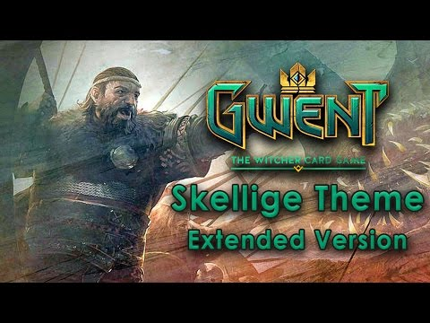 Gwent OST - The Mighty Jarl of Skellige | Skellige Deck Theme (Extended Version)